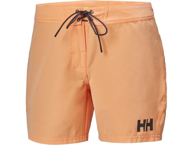 """Helly Hansen HP Pantalones cortos 6"""" Mujer, naranja"""